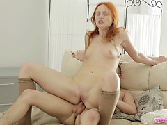Nadezhda loves the vibrator before she tries anal for the first time.