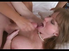 MILF and girl and boy